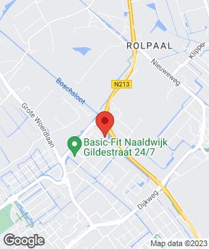 Locatie Ford dealer Ardea Auto Naaldwijk op kaart