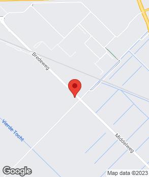 Locatie Garage- en Bodyrepair Piet Gelton op kaart
