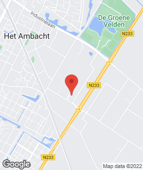 Locatie WA Drost Autohandel op kaart