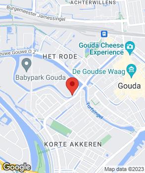 Locatie ROCAR Autoschade op kaart