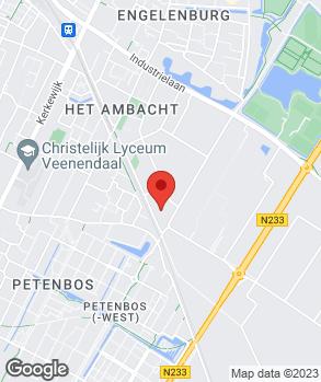 Locatie G. Dorrestijn op kaart
