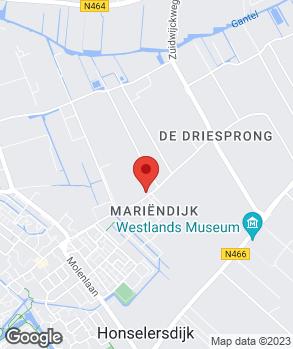 Locatie RT Services op kaart