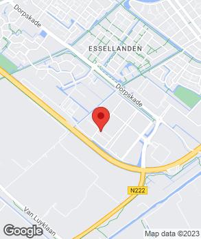 Locatie Autobedrijf Zwethove op kaart