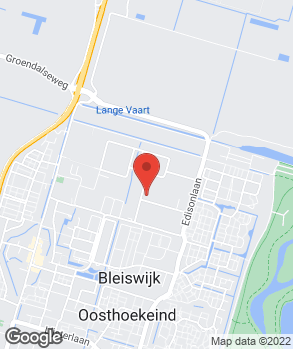 Locatie Oosthoekeind B.V. op kaart