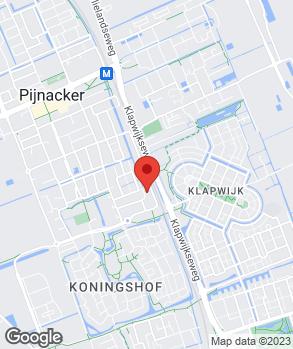 Locatie Oudshoorn en Ruygt op kaart