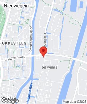 Locatie Muntstad Nieuwegein op kaart