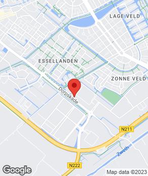 Locatie Garagebedrijf J. Wouters B.V. op kaart