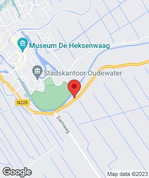 Locatie Garage-Bedrijf Kissing op kaart