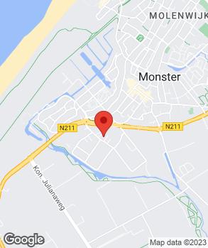 Locatie Arie van der Meer op kaart