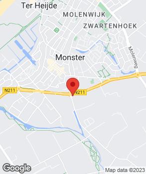 Locatie M.G. Workshop op kaart