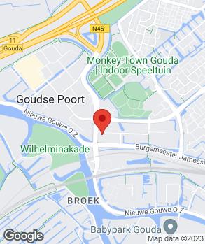Locatie F. Breeman Gouwepark B.V. | F. Breeman Gouwe Park op kaart