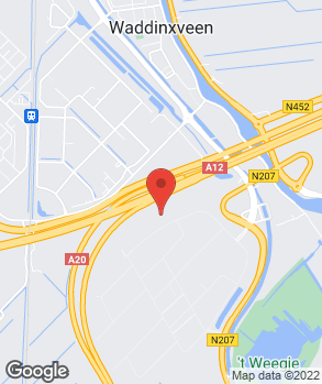 Locatie Audi Van Beynum Moordrecht B.V. op kaart