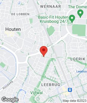 Locatie Auto Totaal Houten op kaart