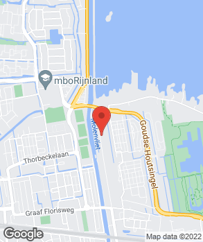 Locatie Garage van Dam Gouda op kaart