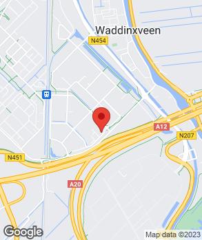 Locatie Van Leeuwen Autoschade B.V. op kaart