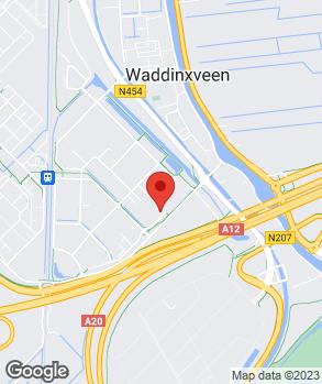 Locatie Van der Linden Groep Waddinxveen bv op kaart