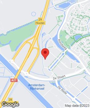 Locatie VerkerK Houten B.V. op kaart