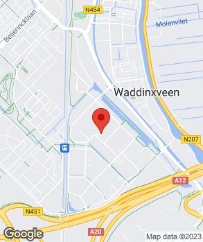 Locatie ADT Handelsonderneming op kaart