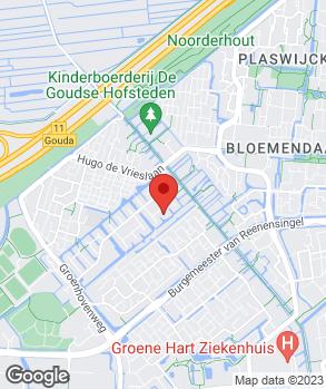 Locatie Huiden's Autobedrijf B.V. op kaart