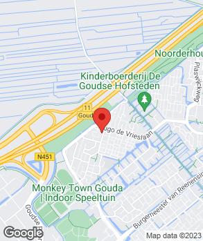 Locatie DMD Schadeauto's op kaart