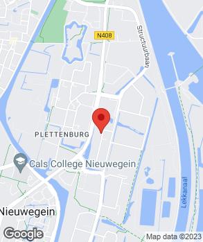 Locatie Stam Nieuwegein II op kaart