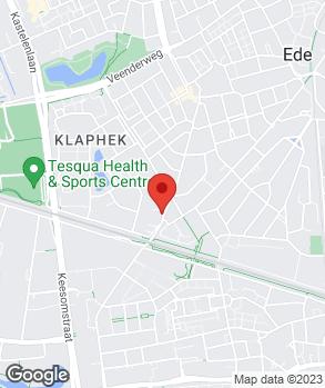 Locatie S.W. van den Top op kaart
