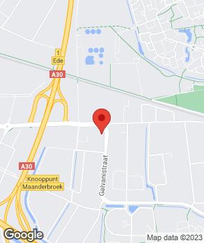 Locatie Vallei Auto Groep Ede op kaart