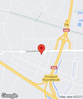 Locatie Auto-Active op kaart