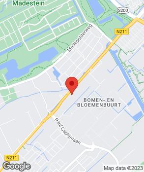 Locatie Autobedrijf W. van der Ende op kaart