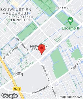 Locatie Garage Blok & Zn. op kaart