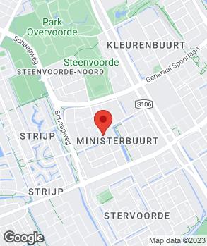 Locatie Automobielbedrijf E.J. van den Heuvel B.V. op kaart