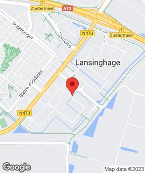 Locatie Autobedrijf Preuninger Zoetermeer B.V. op kaart