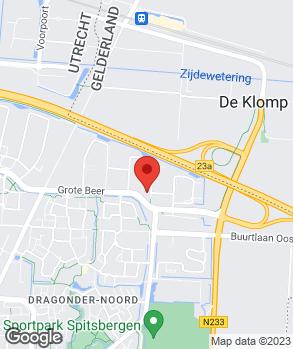 Locatie Autobedrijf de Groot B.V. op kaart