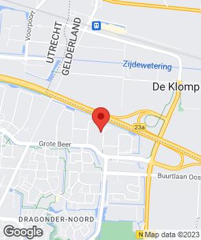 Locatie Vallei Auto Groep SEAT SKODA Veenendaal op kaart