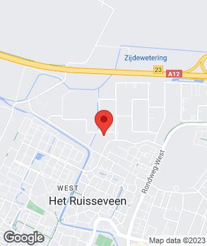 Locatie DHZ APK Service Veenendaal op kaart