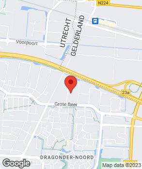 Locatie V.O.F. Autoschade J. Henken op kaart