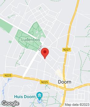 Locatie Autobedrijf Van der Kaay op kaart
