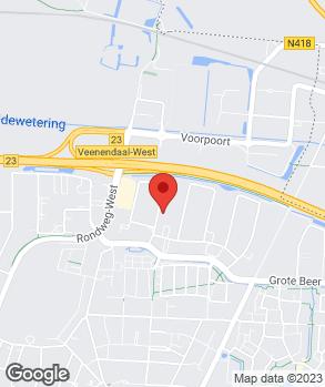 Locatie Auto Kuijer B.V. op kaart