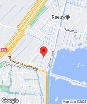 Locatie V.O.F. Garage Van Dijk op kaart