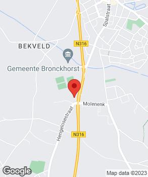 Locatie Herwers Hengelo op kaart