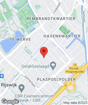 Locatie Auto Center Rijswijk op kaart