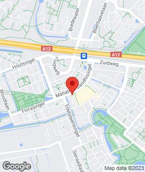 Locatie MAP (Mobiele Autoservice Pech) op kaart