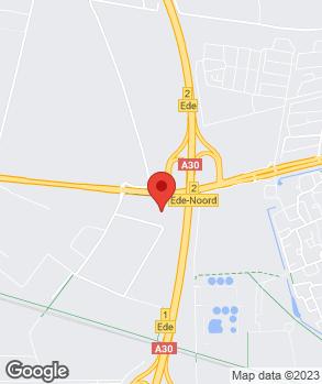 Locatie Henk Scholten Ede B.V. op kaart