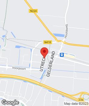 Locatie Automobielbedrijf A.C. Veenvliet B.V. op kaart