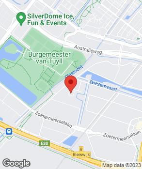 Locatie V.O.F. Boulogne Autoworks op kaart