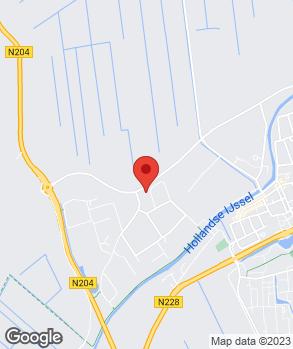 Locatie Autobedrijf Verkerk op kaart