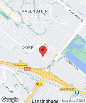 Locatie Fiat 500 Dokter op kaart