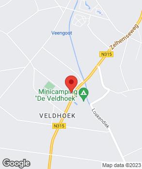 Locatie J. Berendsen op kaart