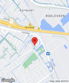 Locatie Haaglanden Motorsport op kaart