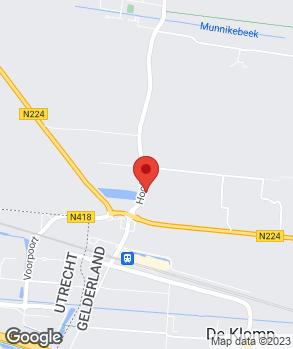 Locatie Autobedrijf J. van Egdom op kaart
